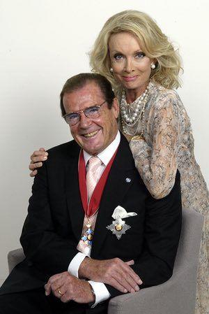 Roger Moore Kristina Tholstrup