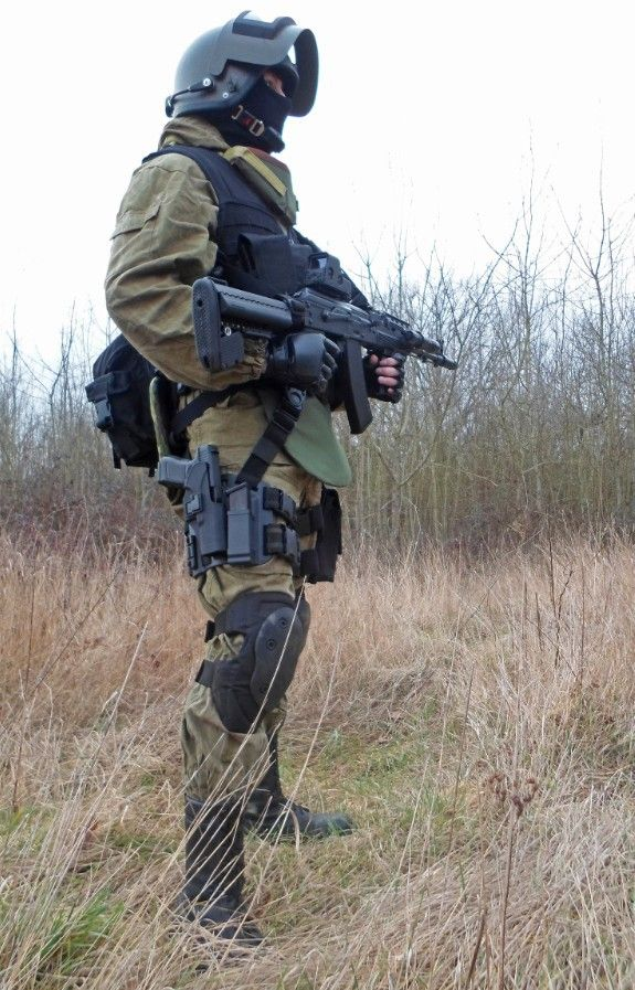 Russian special forces OMON tactical