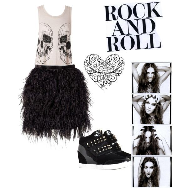 """""""rock and roll"""" by anouk-van-den-driest on Polyvore"""