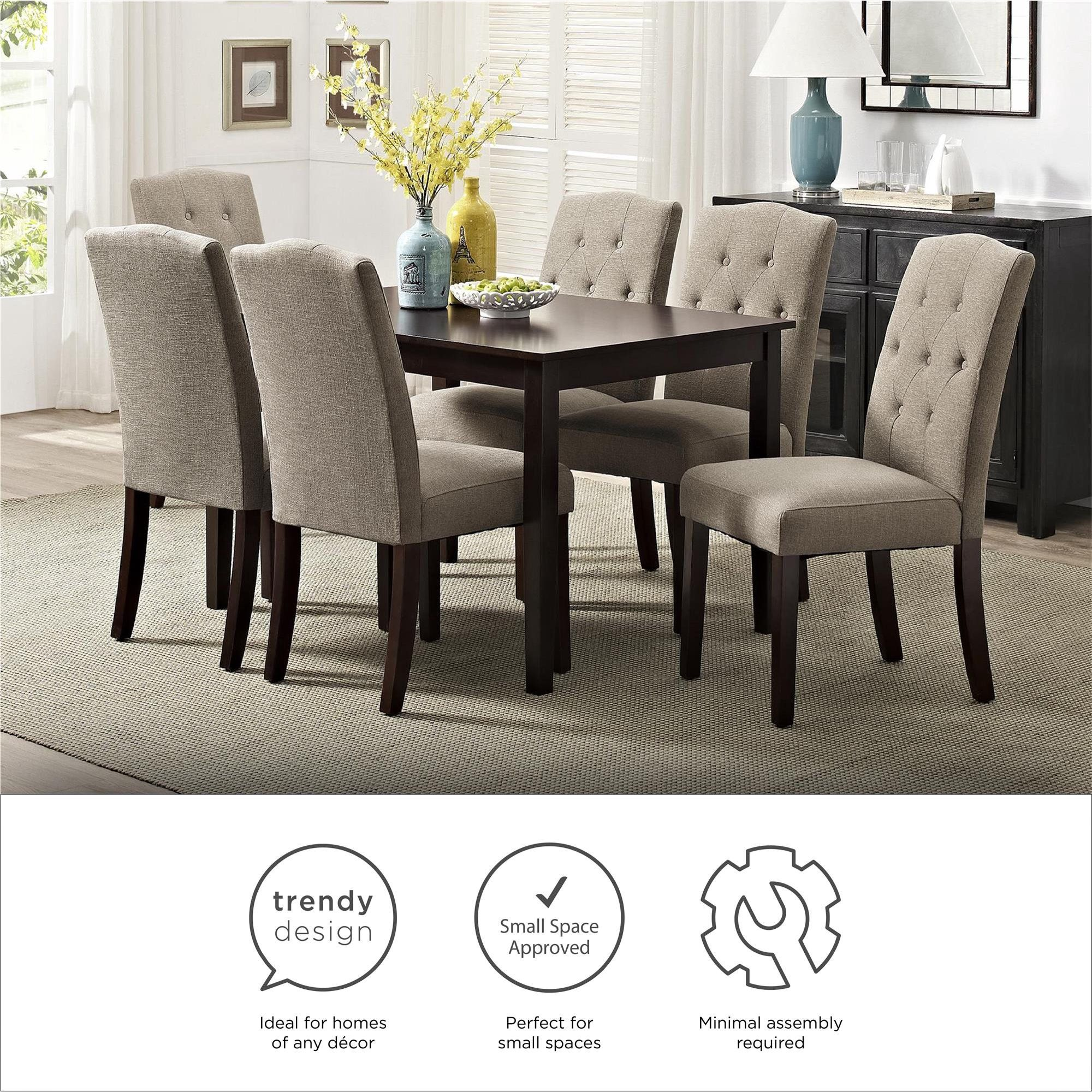 ff902ebd21a93a9bcdcc4e9073c9520d - Better Homes And Gardens Parsons Tufted Dining Chair Beige