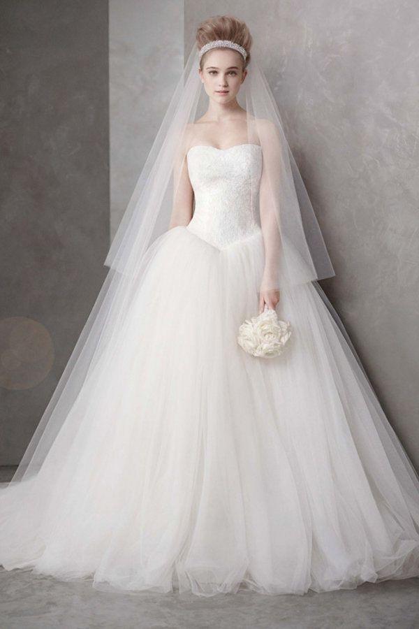 18 Modernos vestidos de noiva estilo princesa