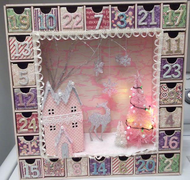 kaisercraft advent calendar instructions