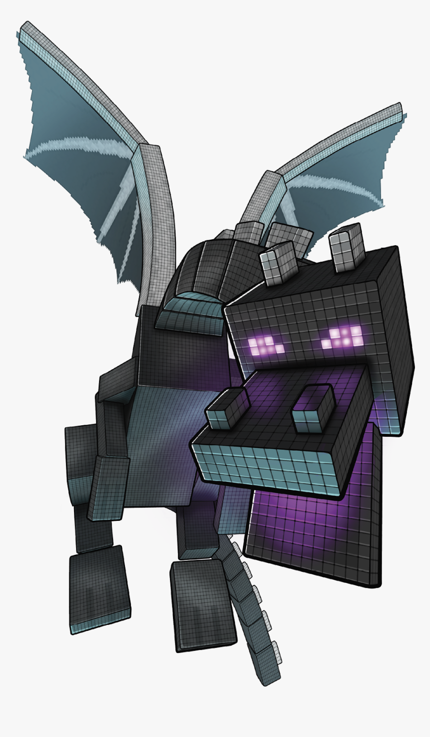 Avoid The Ender Dragon S Charge Attack And Know That Ender Dragon Minecraft Clipart Hd Png Download Is Free Transparent P Minecraft Clipart Dragon Clip Art