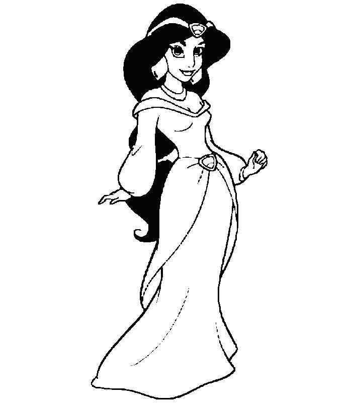 Aladdin Coloring Pages For Kids To Print Free And Paint Disney Princess Colors Disney Princess Coloring Pages Disney Aladdin