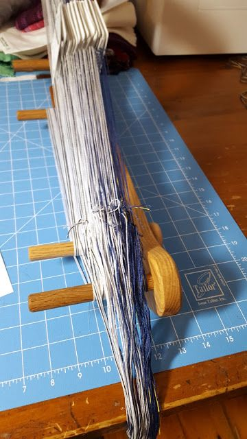 Threadbare Designs - a Weaver's Journey: Tablet Woven Band
