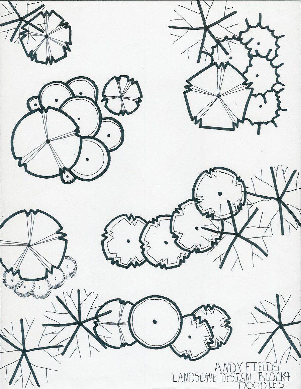 Landscape Architecture Drawing Symbols resultado de imagen para landscape graphics vine symbols