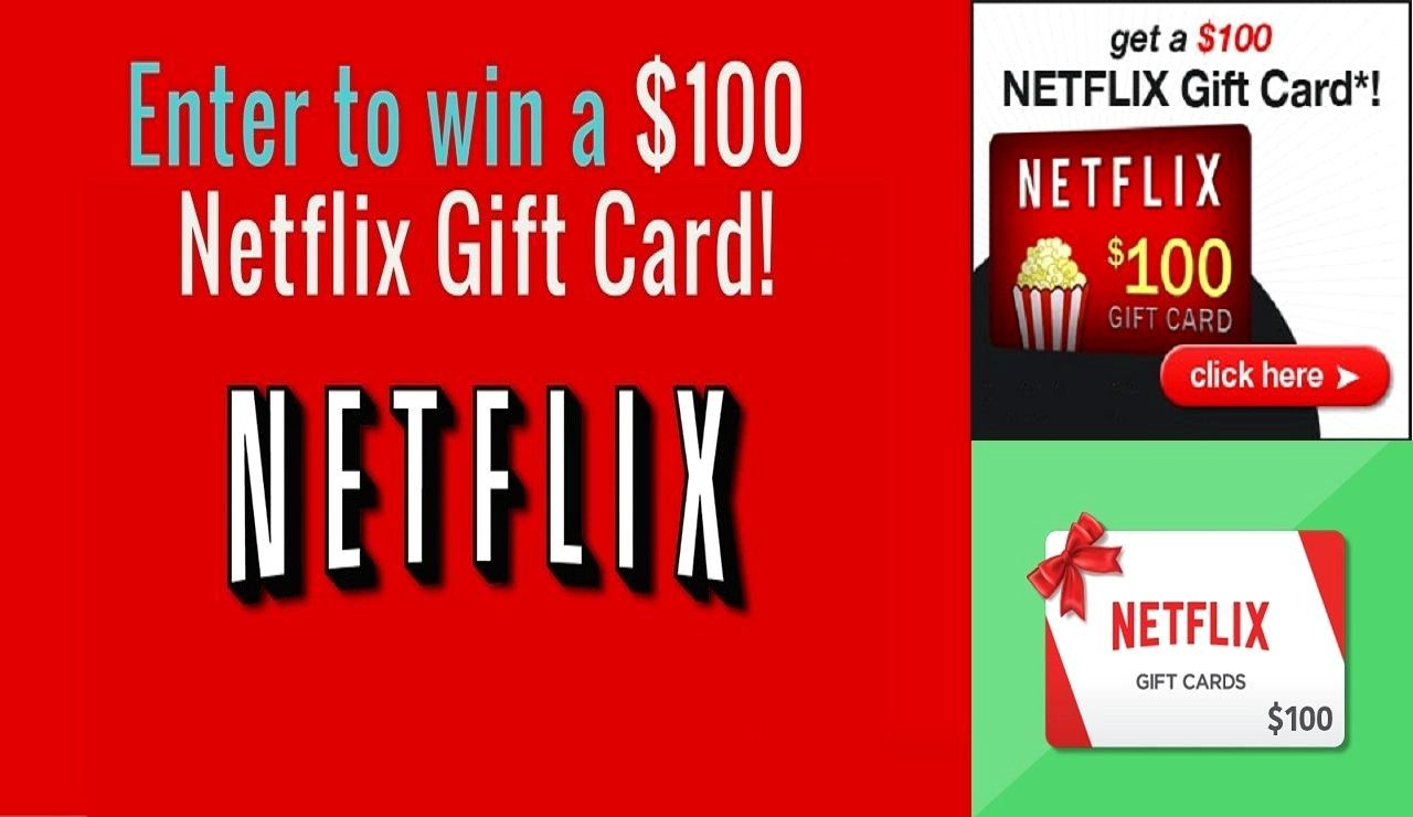 100 Working Netflix Gift Card Get It Free Pls Go To The Link And