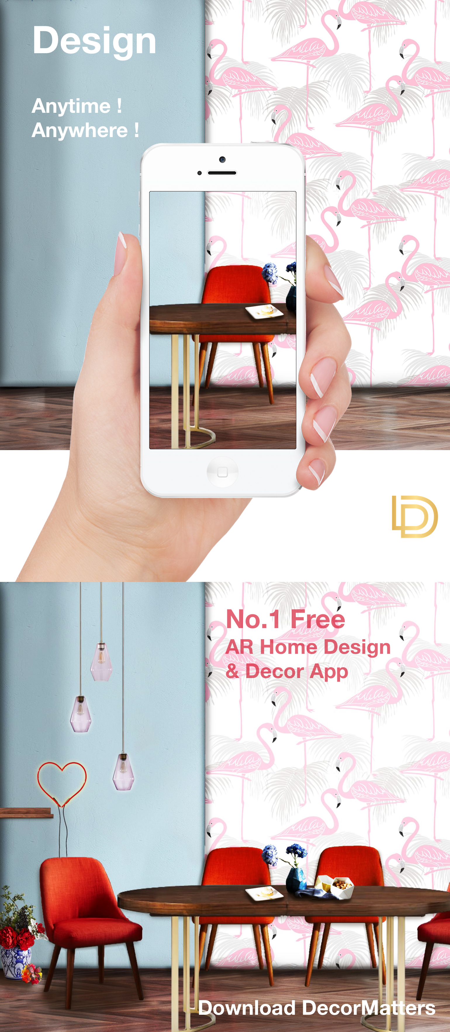 Play Interior Design Home Decor With No 1 Free Ar App Anytime And Anywhere Try Decormatters Today It S Home Goods Decor Casual Home Decor Home Design Decor