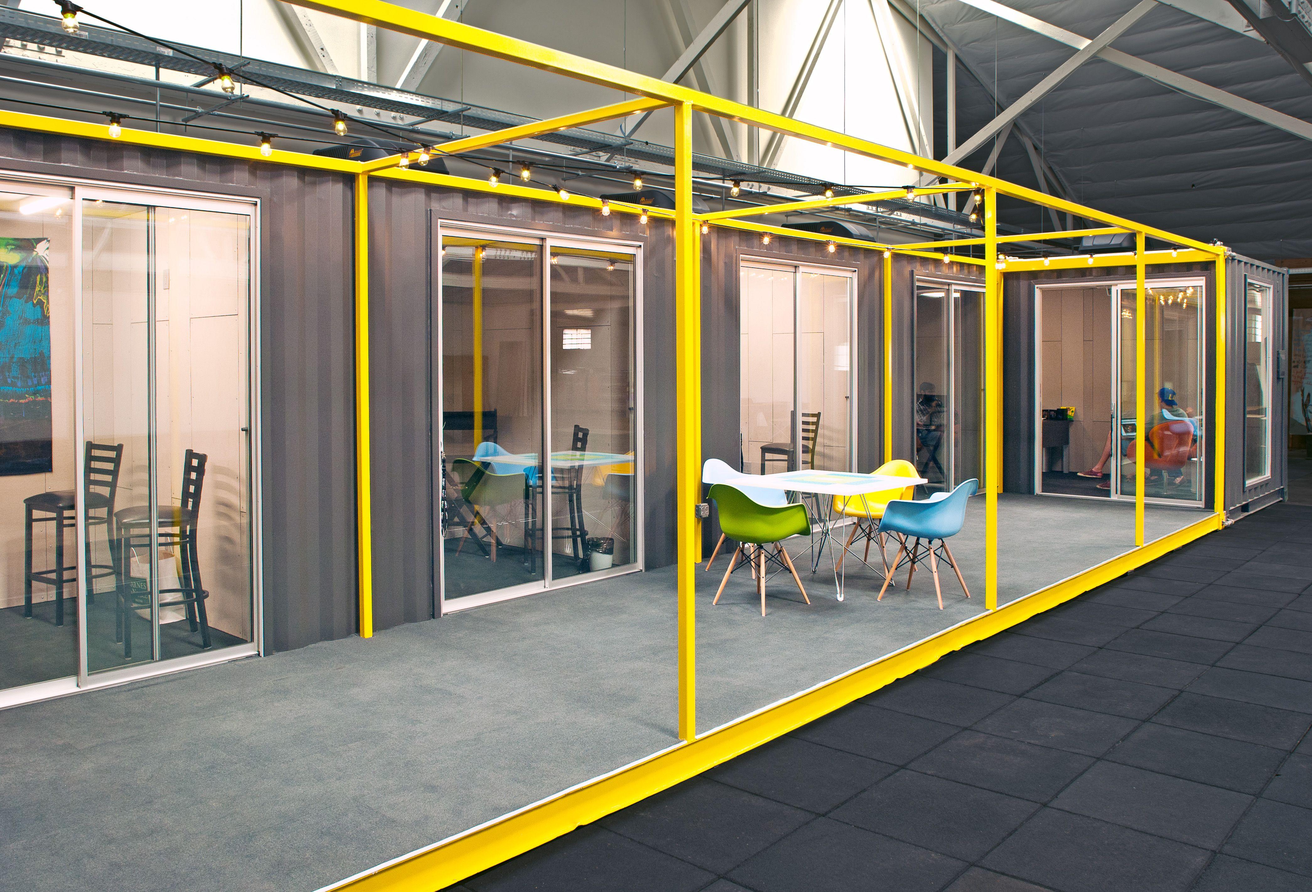 high end industrial office container workspace cubedepot. Black Bedroom Furniture Sets. Home Design Ideas