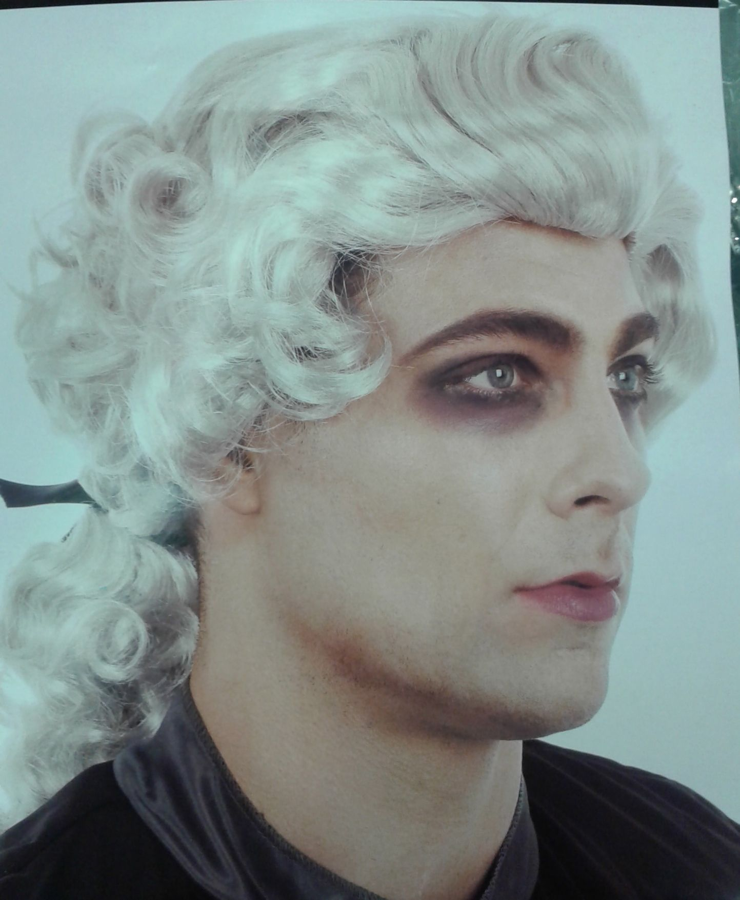 Zombie king grey theatrical wig theatrical costume wigs pinterest