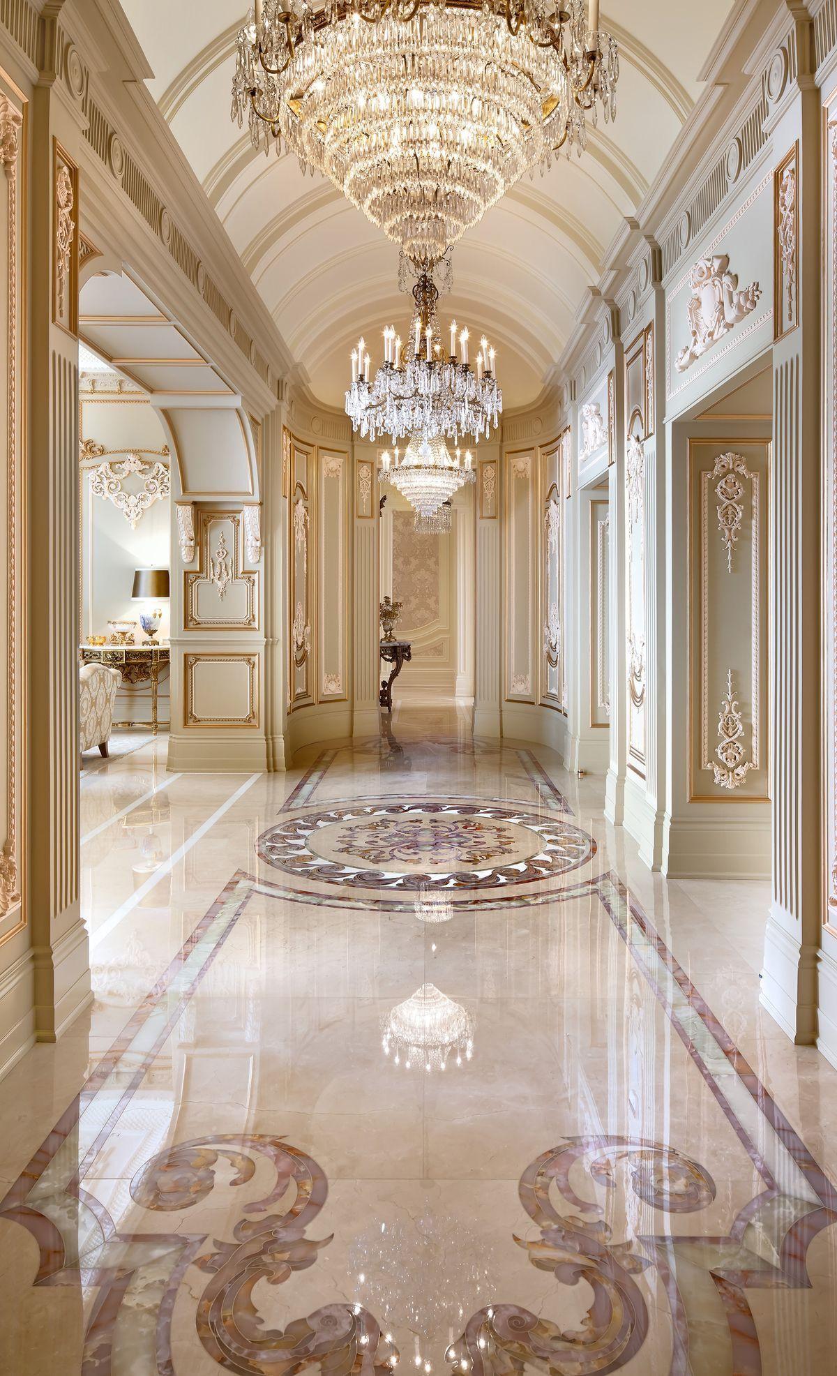Palatial Entrance Luxury Interior House House Design