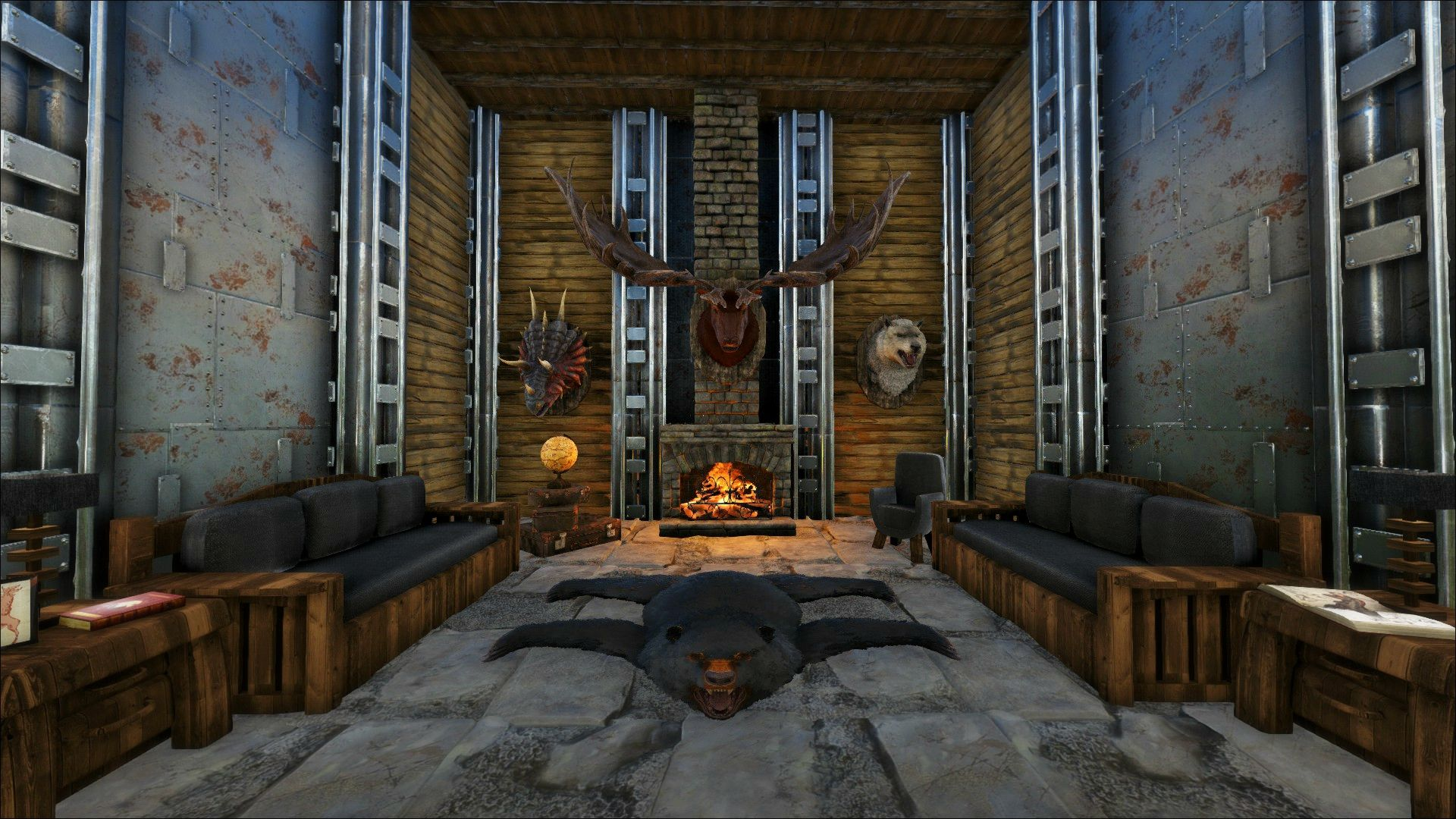 Steam Workshop Eco S Rp Decor Ark Survival Evolved Ark Survival Evolved Bases Metal Ceiling