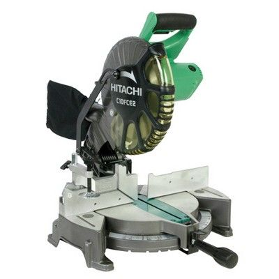 Hitachi C10fce2 10 Compound Miter Saw Miter Saw Reviews Hitachi Miter Saw Compound Mitre Saw