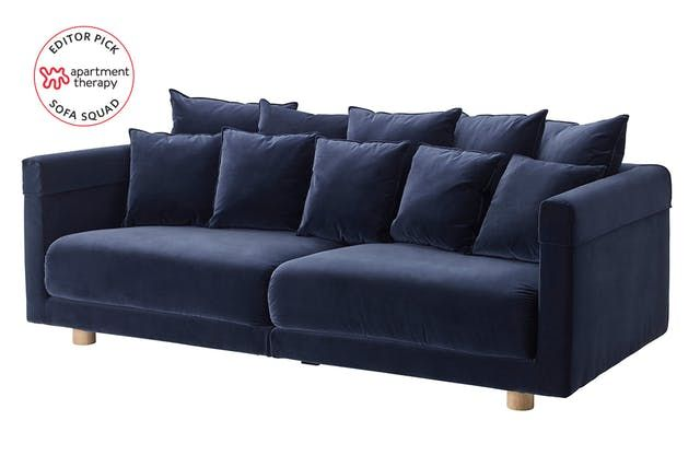We Reviewed Ikea Sofas Irl These Are The Most Comfortable Ikea Living Room Furniture Ikea Stockholm Sofa Ikea Living Room