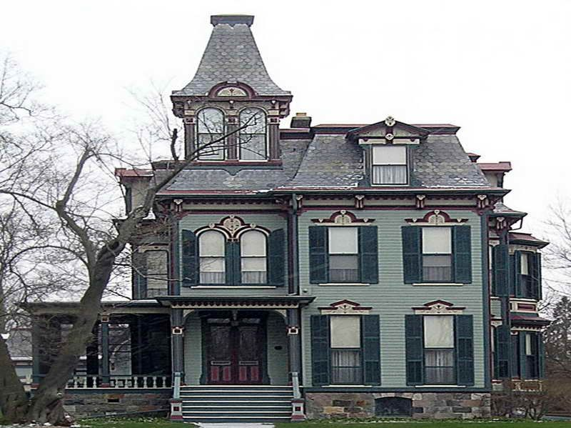 Decorating Ideas For Victorian Homes Part - 36: Decorating Ideas For Victorian Homes With Front View