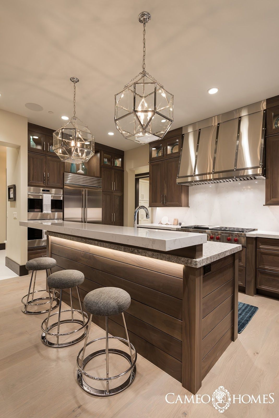 Hello I M Back Today To Share The Kitchen And Dining Area From The New Fork Project Modern Kitchen Cabinet Design Contemporary Kitchen Modern Kitchen Design