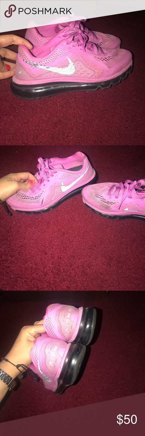 nike air max rosa viola, colore rosa porpora, air max e scarpe da ginnastica