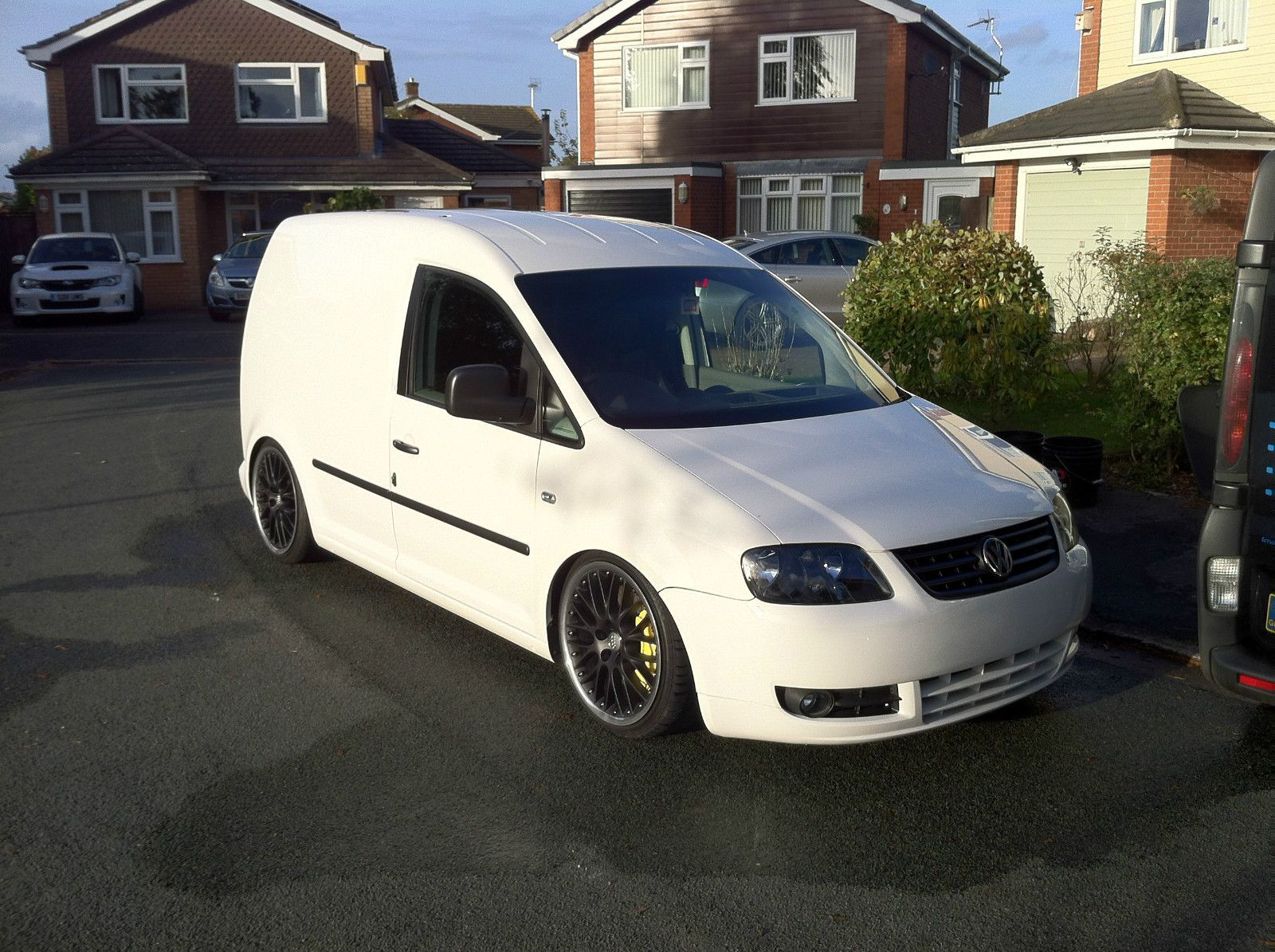 2006 volkswagen vw caddy swb 1 9 tdi modified custom. Black Bedroom Furniture Sets. Home Design Ideas