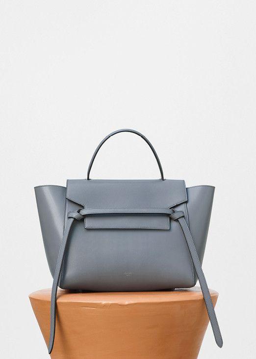 b2e9ad15f5 Mini Belt Bag in Storm Supersoft Calfskin - Céline