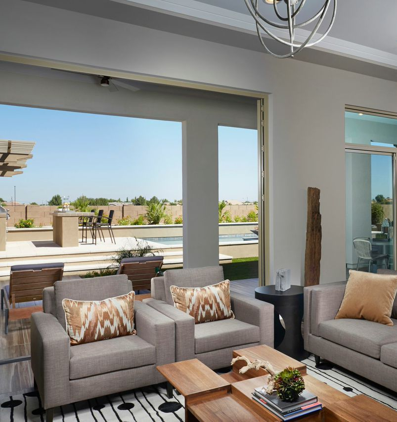 Extend Your Formal Living Room Into Your Back Patio With The Use