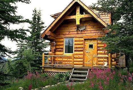 Merveilleux Log Cabins Homes | Denali Log Cabin I Alaska Travel Photos