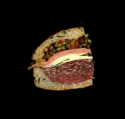 """Scans of sandwiches for education and delight"" This guy scans his sandwiches before eating them - the outcome is surprisingly beautiful!"