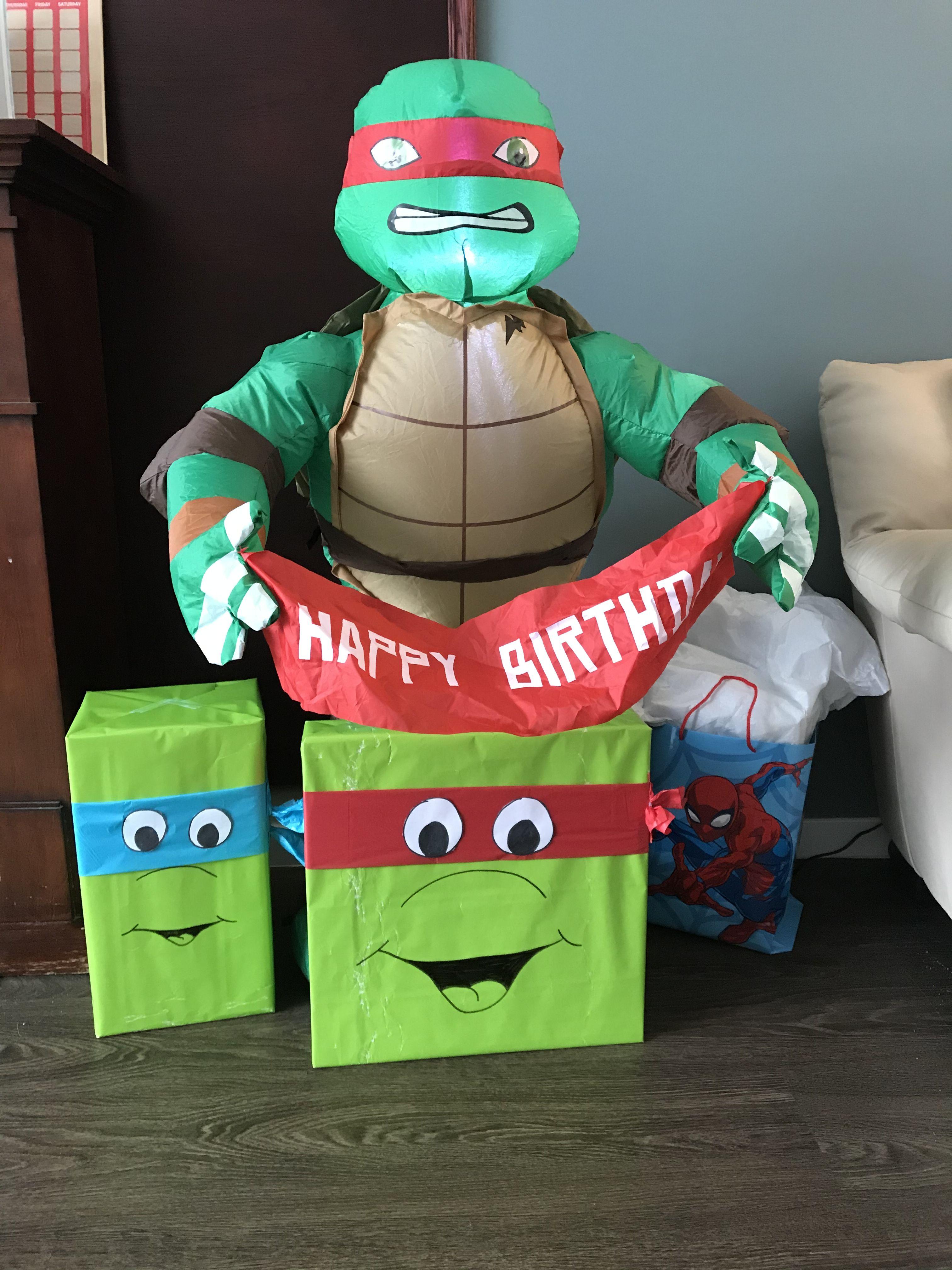 Ninja Turtle Theme Birthday In 2020 Turtle Theme Ninja Turtle Theme Ninja Turtle Party