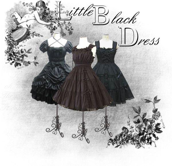 """Little Black Dress Wishlist"" by emma-the-rat ❤ liked on Polyvore"