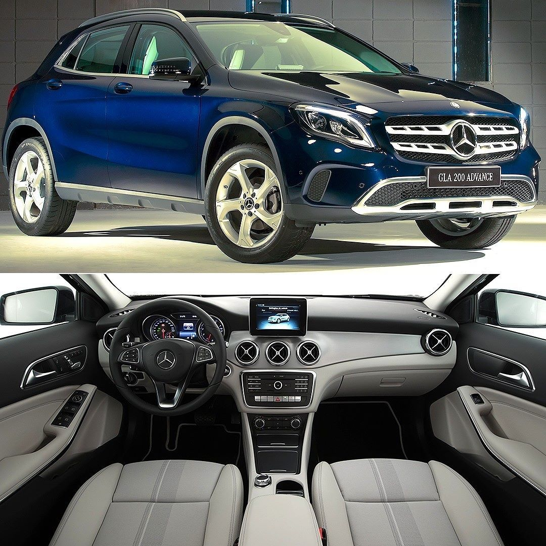 Mercedes Benz Gla 200 Advance 2018 Confira Video No Nosso Canal No