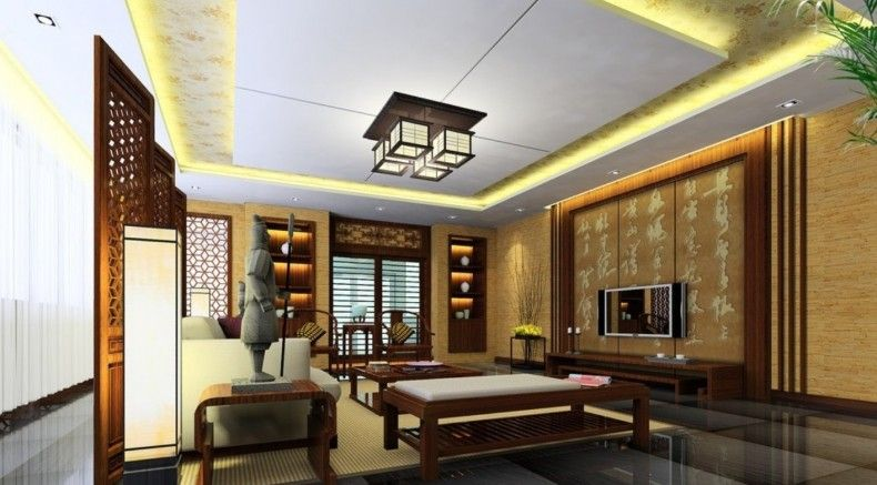 Chinese New Year Living Room Design Ideas: Living room ...