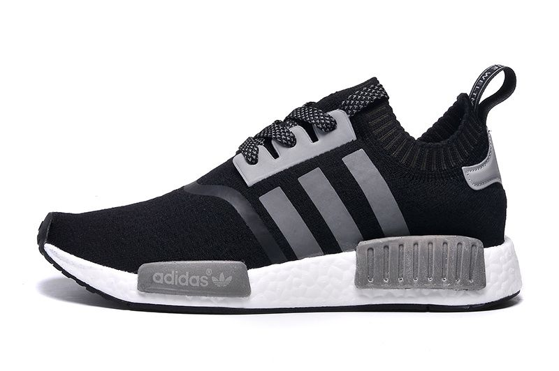 original NMD Originals Micro Pacer Ultra NMD Run Primeknit black and grey  with Men