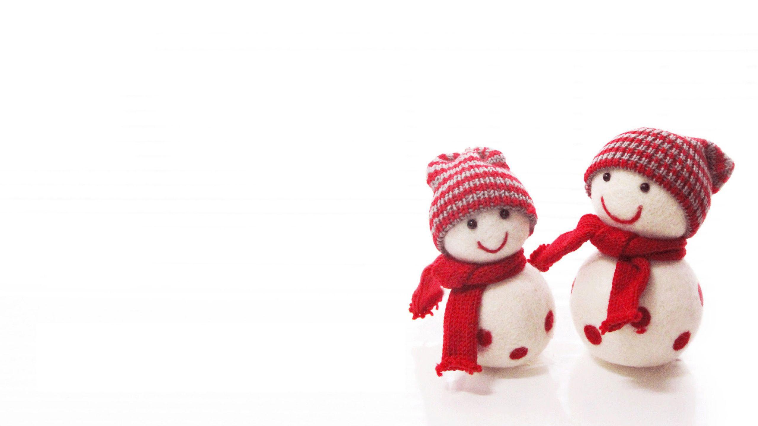 cute couple snowman hd wallpaper merry christmas