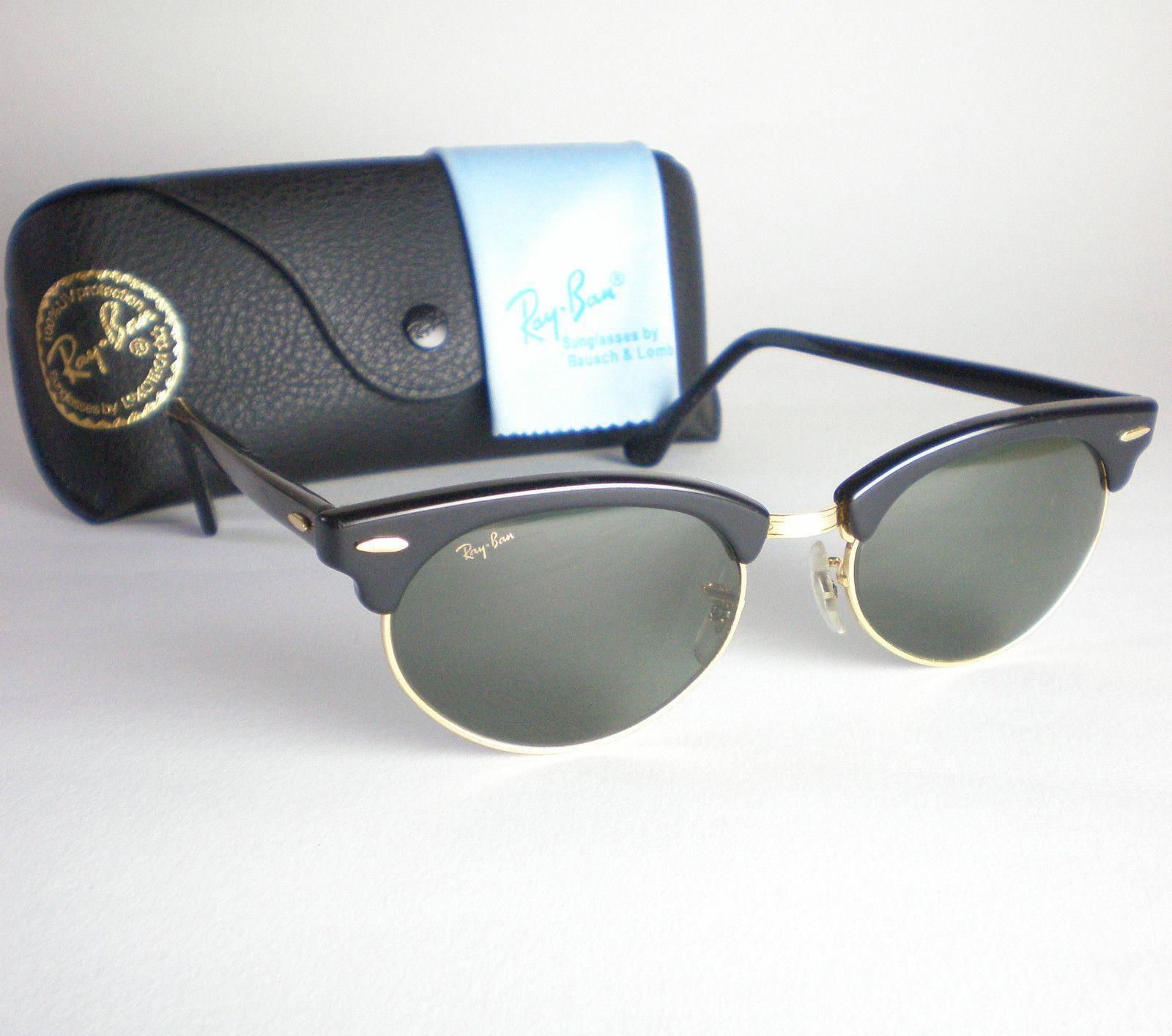6c17096f32f5 Vintage Ray Ban Women s Sunglasses (Ladies Pre-owned Oval Clubmaster Cat  Eyes Sun Glasses