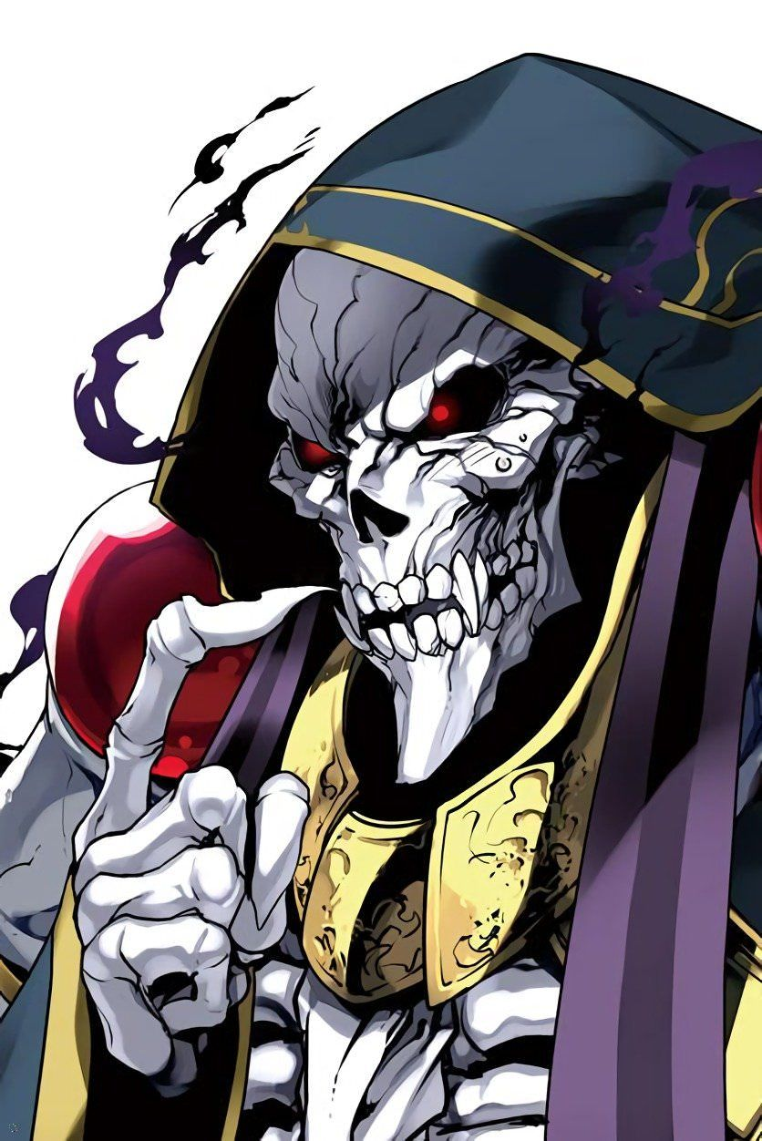 Overlord Momonga By Ishida Akira Anime Manga Anime Anime Boy