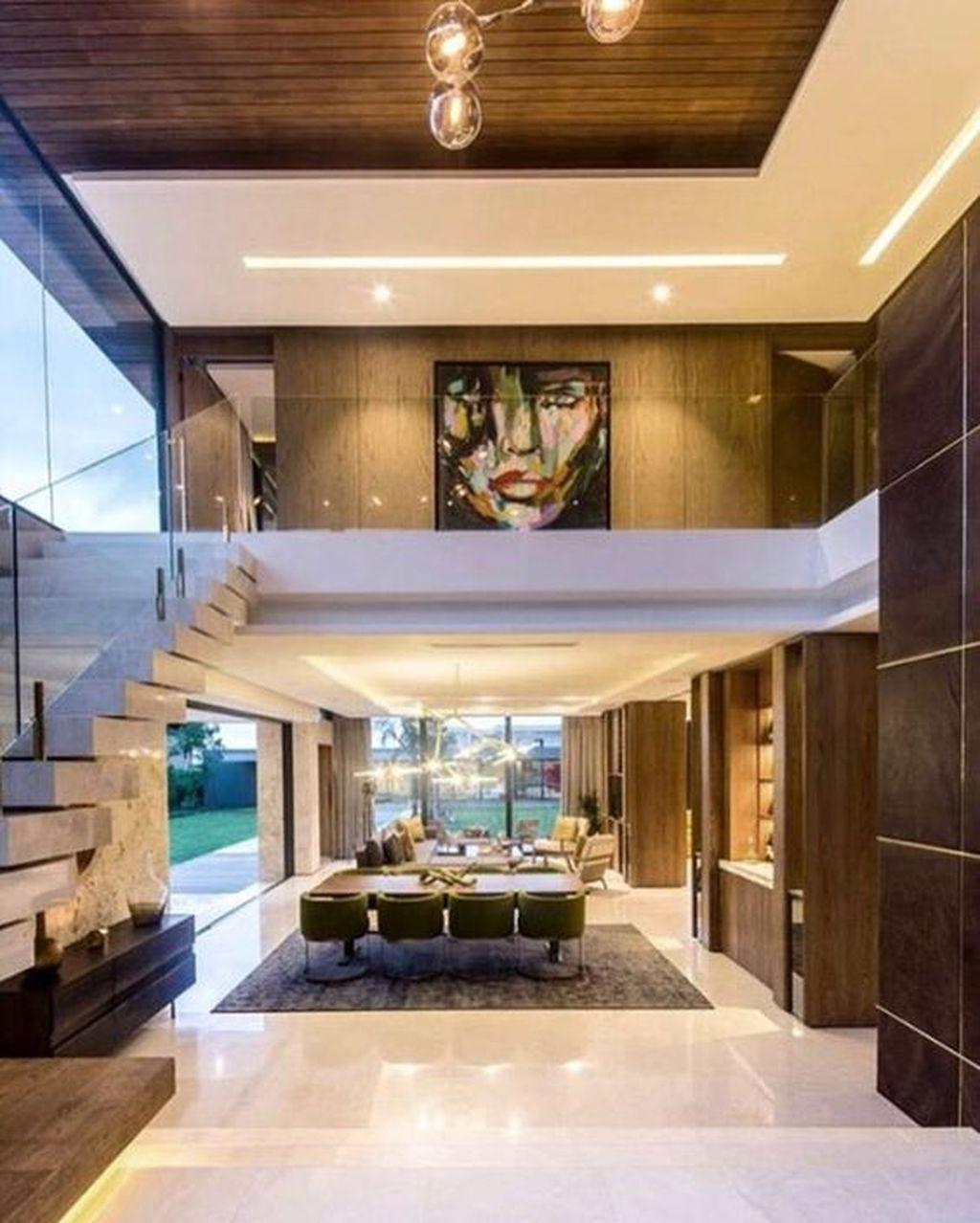 50 Stunning Modern House Design Interior Ideas Trendehouse Modern House Design Modern Houses Interior Architecture House