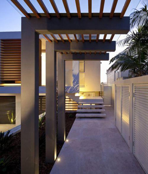 moderne berdachung f r wege auch f r den eingang denkbar hausbau pinterest architektur. Black Bedroom Furniture Sets. Home Design Ideas