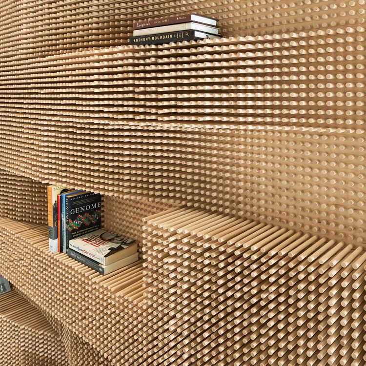 Modern Homes Peg: Modern Wooden Peg Board Bookshelf