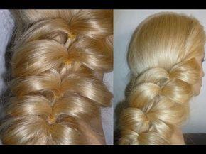 Быстрая причёска для длинных волос