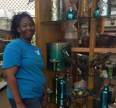 Meet Ms. Pearl! She\'s manager in the gifts & candles department at ...