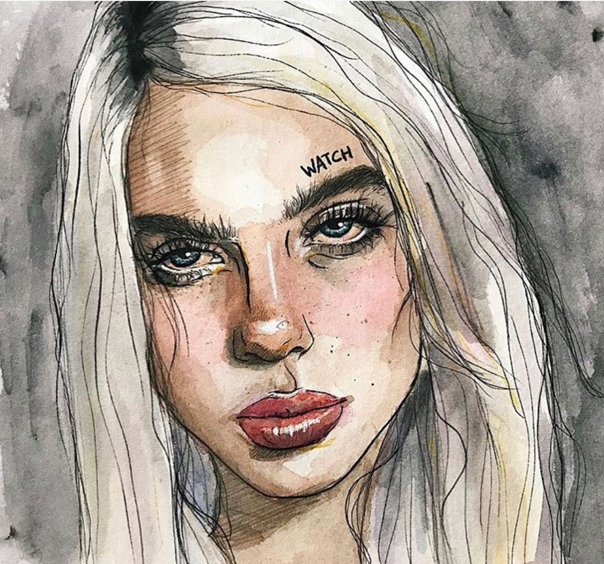 Art From Billie S Instagram Billie Eilish Billie Art Prompts