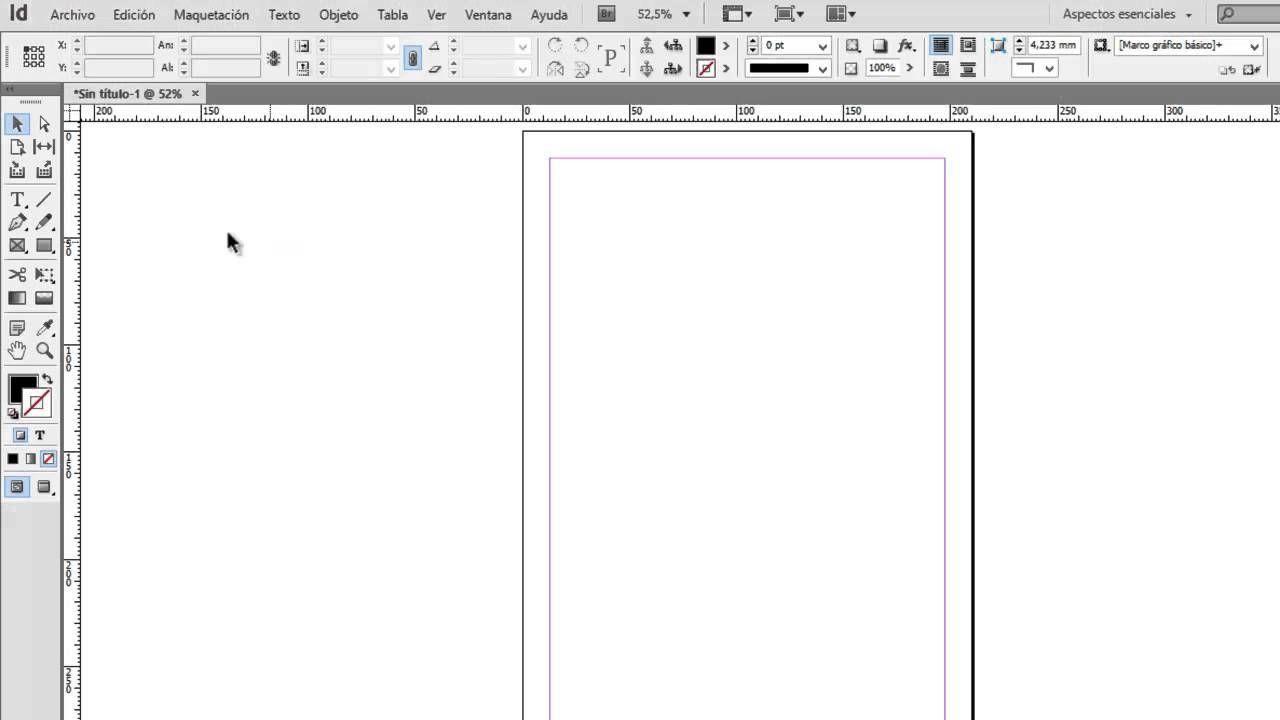Tutorial Adobe InDesign CS6 // Introducción al programa (interfaz ...