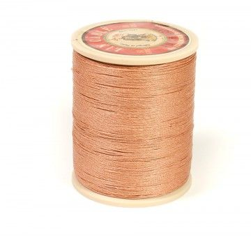 Linen Thread: Fawn $36.00 This is a great waxed linen thread for leather and leatherworking but also bead making, costume jewelry and even bookbinding. Check @ www.fineleatherworking.com #fineleatherworking