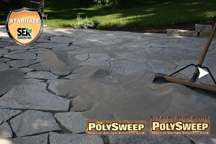 Polymer Sand Sek Main 5 Polysweep 3 Landscape