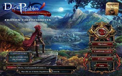 Juegos Y Programas Full En Descarga Directa Dark Parables La Hermandad De La Caperuza Roja Ed Red Riding Hood Sisters Little Red Riding Hood