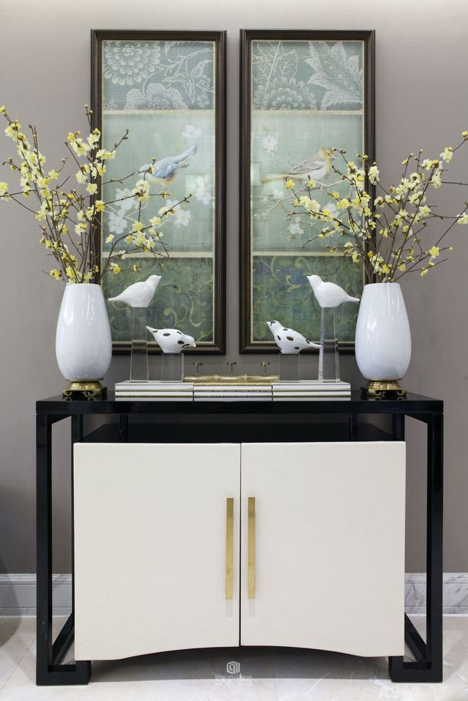 Agatha O | Casegoods Inspiration For You   White And Black Console. See  More: