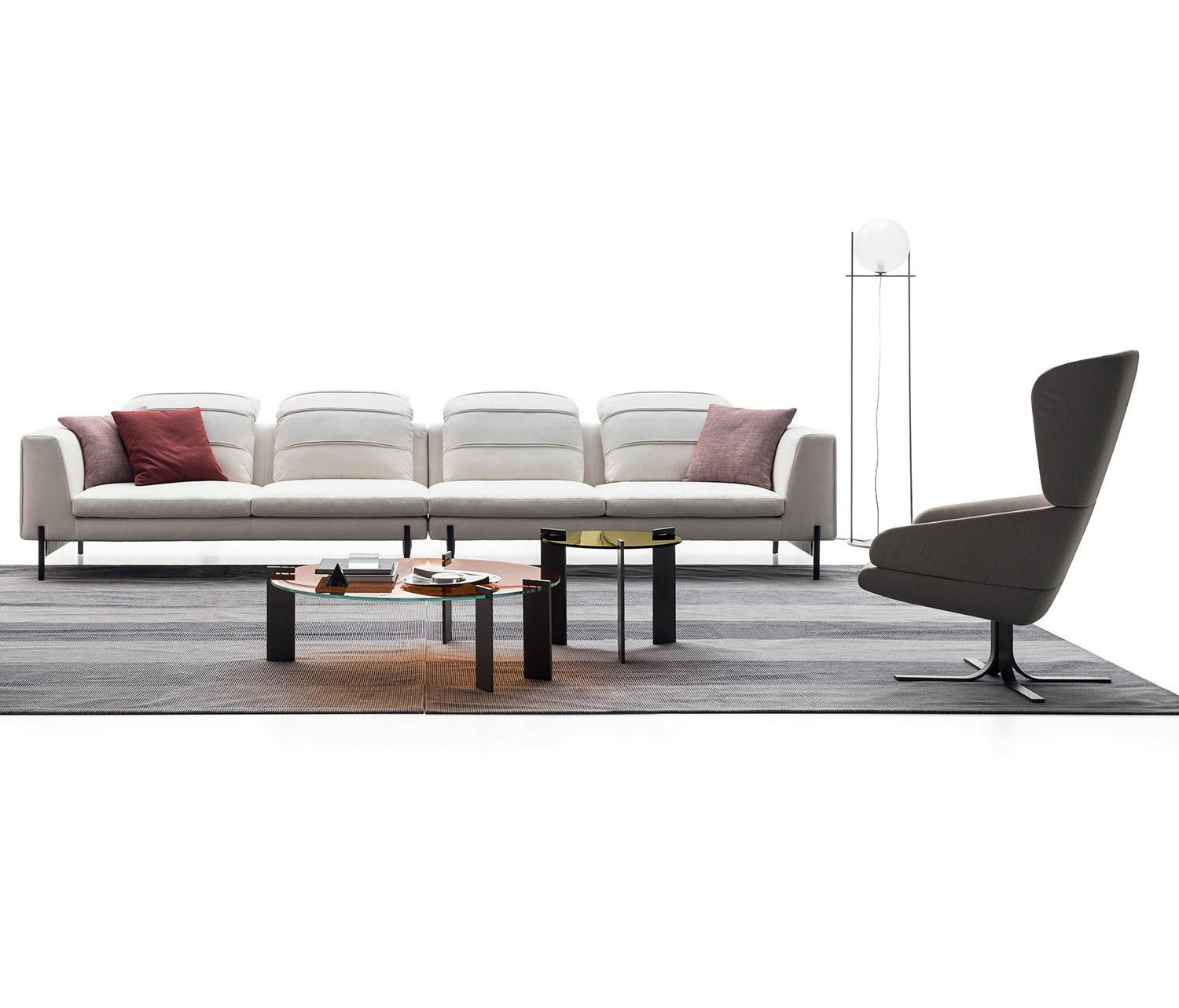 KIM Designer Sofas from DITRE ITALIA all information