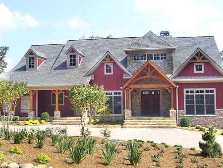 Plan 29877rl flexible mountain craftsman house plan for Mountain craftsman home