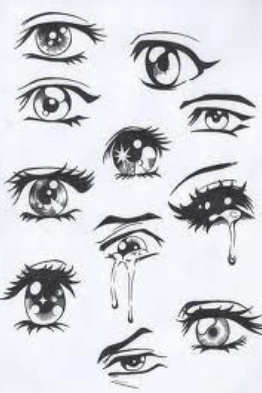 Dibujos A Lapiz En 2020 Dibujar Ojos De Anime Dibujos De Ojos Ojos Manga