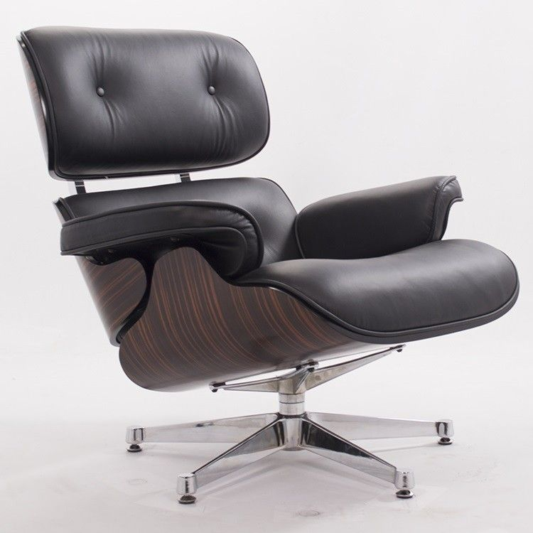 Eames lounge stoel. Lounge Leder. Design Lounge. Stoelen