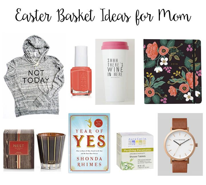Easter basket ideas for mom basket ideas and easter baskets easter basket ideas for mom negle Choice Image